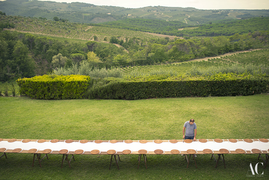 016-Tuscany Wedding Countryside-