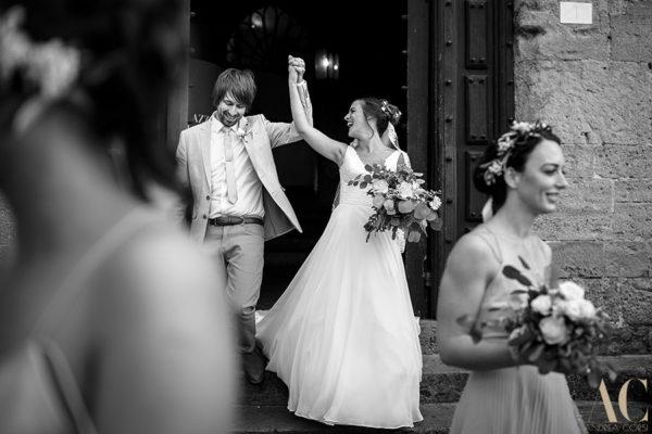 Wedding photographer Tuscany & Lucca. Amanda & Gavin get married