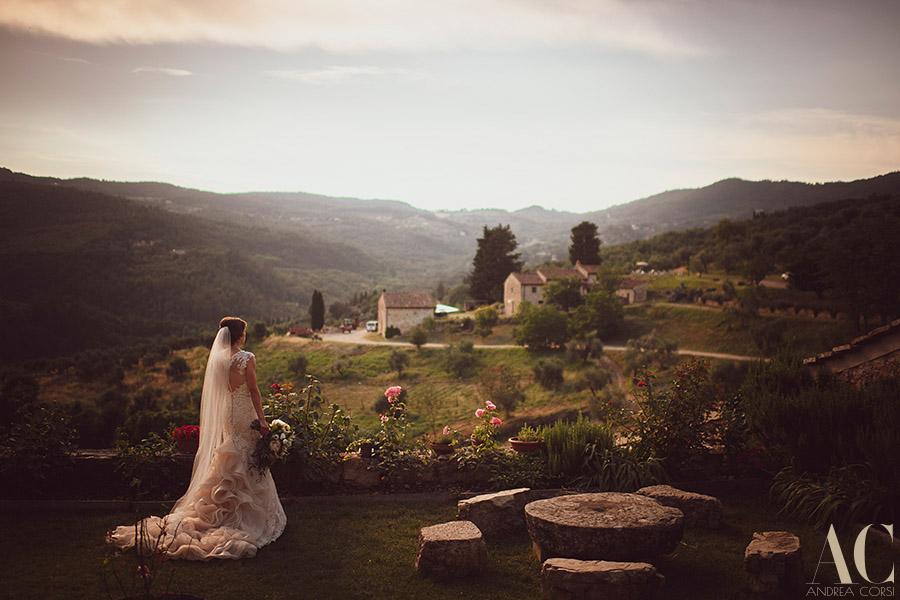 Castello del Trebbio wedding Photographer